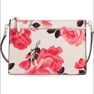 Kate Spade NY Cameron St Roses Clarice Slim Crossbody Bag